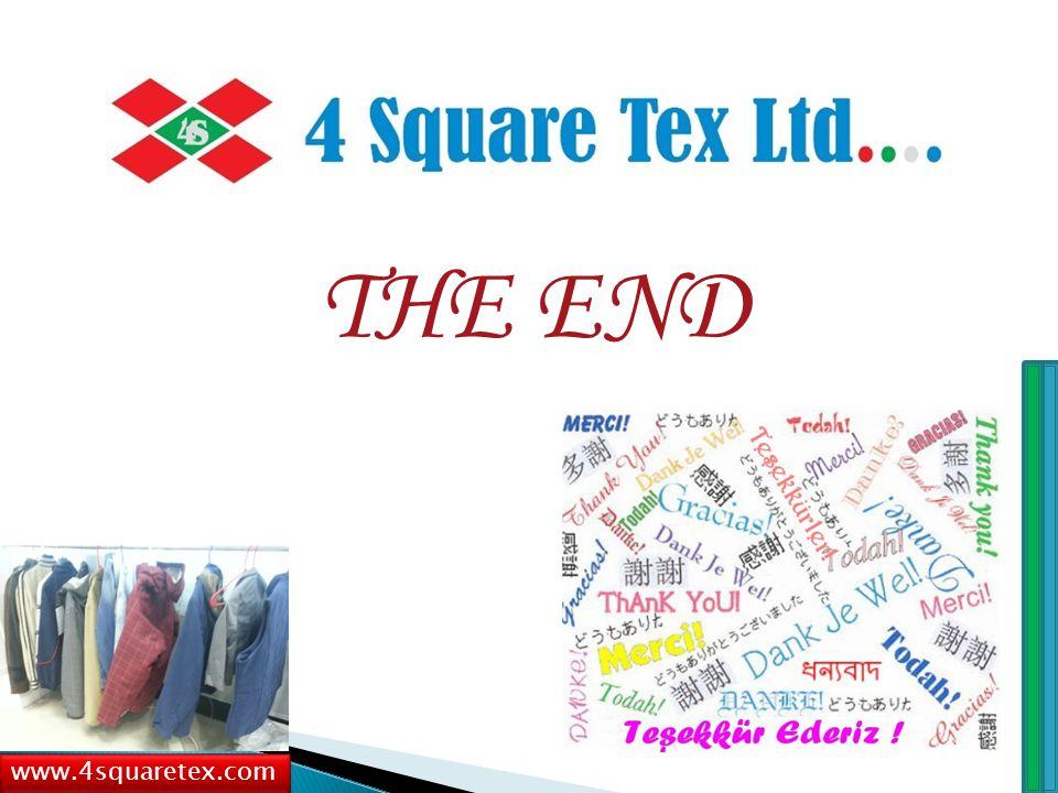 THE END www.4squaretex.com