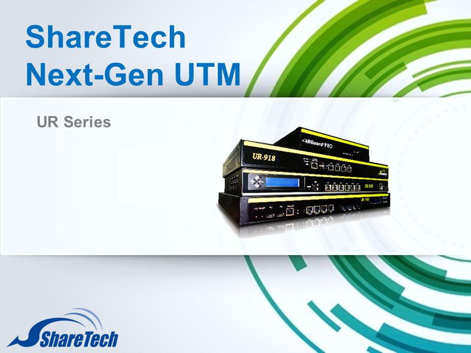 ShareTech Next-Gen UTM UR Series