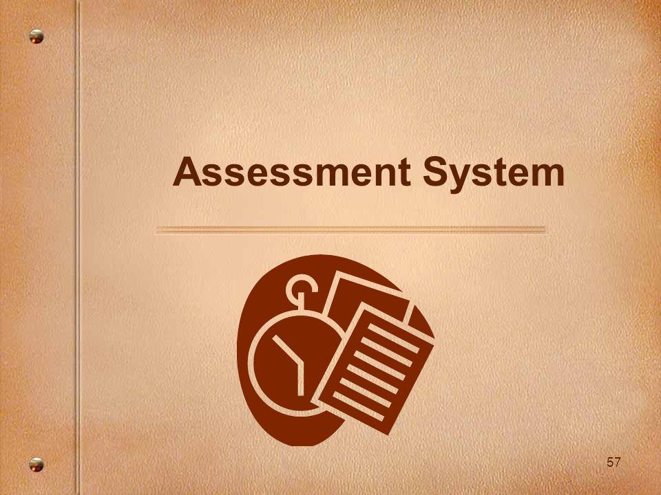 57 Assessment System