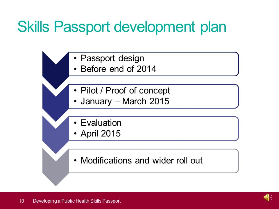 Why develop your Skills Passport.