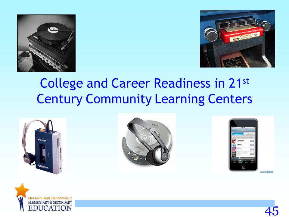45 College and Career Readiness in 21 st Century Community Learning Centers