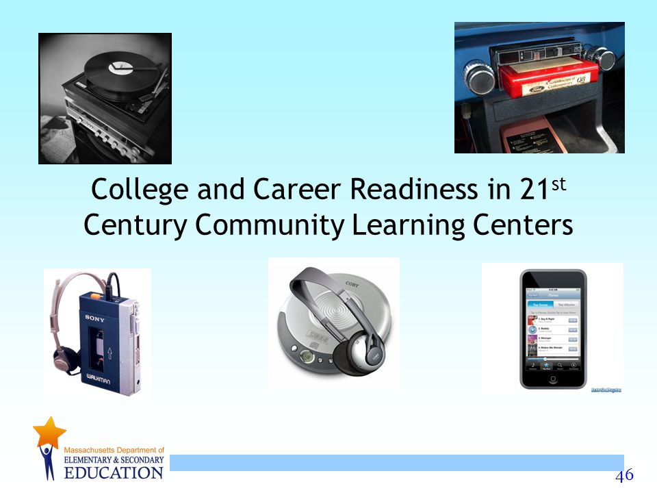46 College and Career Readiness in 21 st Century Community Learning Centers