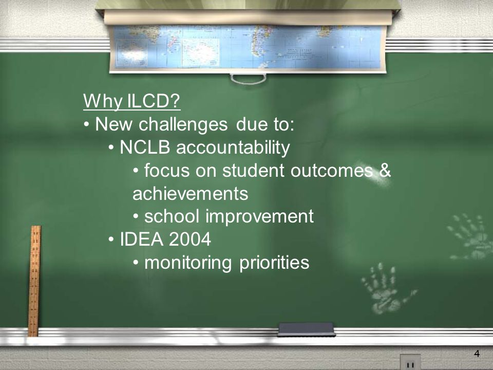 4 Why ILCD.
