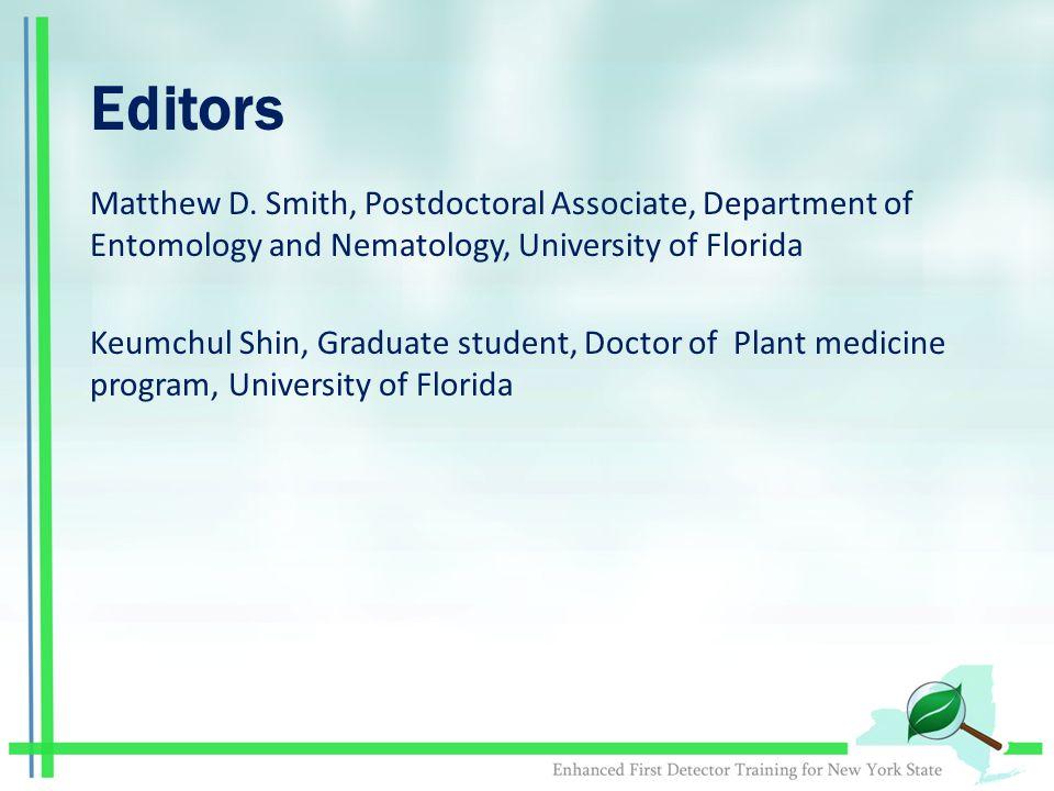 Editors Matthew D.