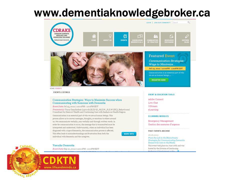 www.dementiaknowledgebroker.ca