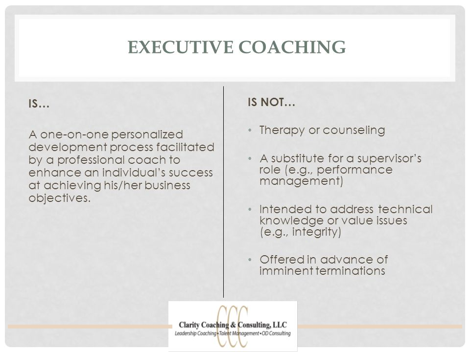 THE COACHING PROCESS Step 1: Introduction.