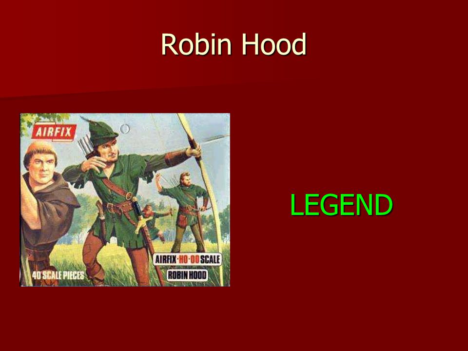 Robin Hood LEGEND