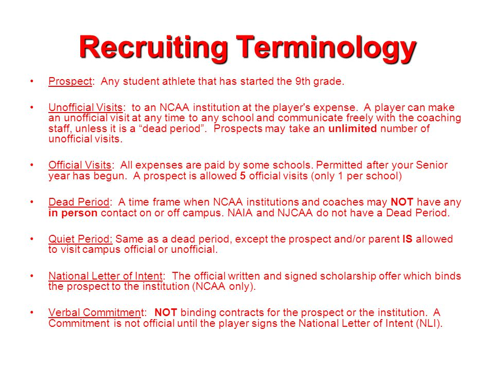Communication **You may contact a school or coach at any age, through any means, at any time; however, NCAA coaches must follow NCAA regulations based on your grade when responding to you.