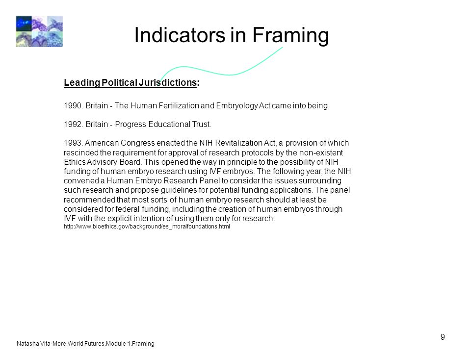 Indicators in Framing Leading Political Jurisdictions: 1990.