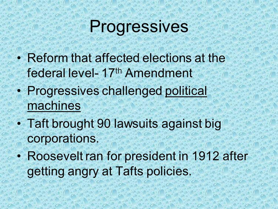 Wilson's New Freedom New Freedom worked to improve economic policy.