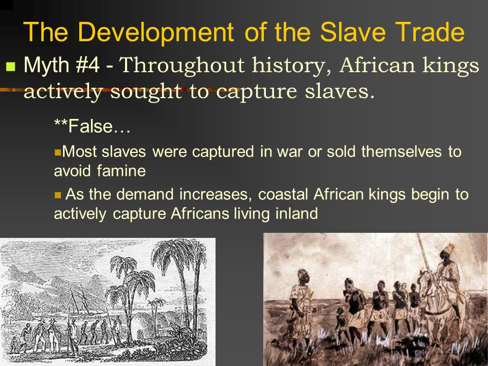 Why Slaves From Africa.