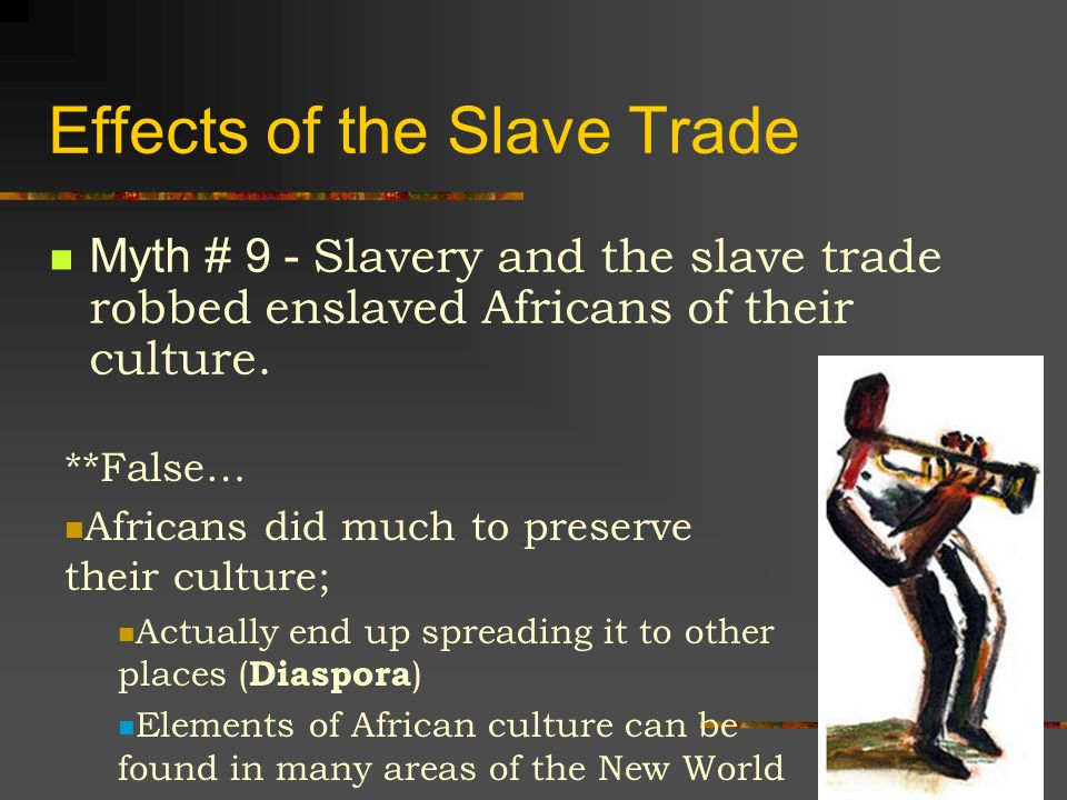 Ending the Slave Trade Myth # 8 - The United States was the first nation in the world to outlaw slavery.