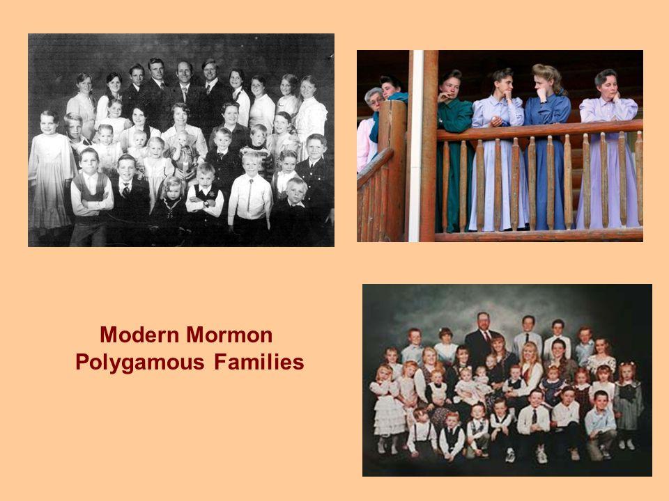 Modern Mormon Polygamous Families