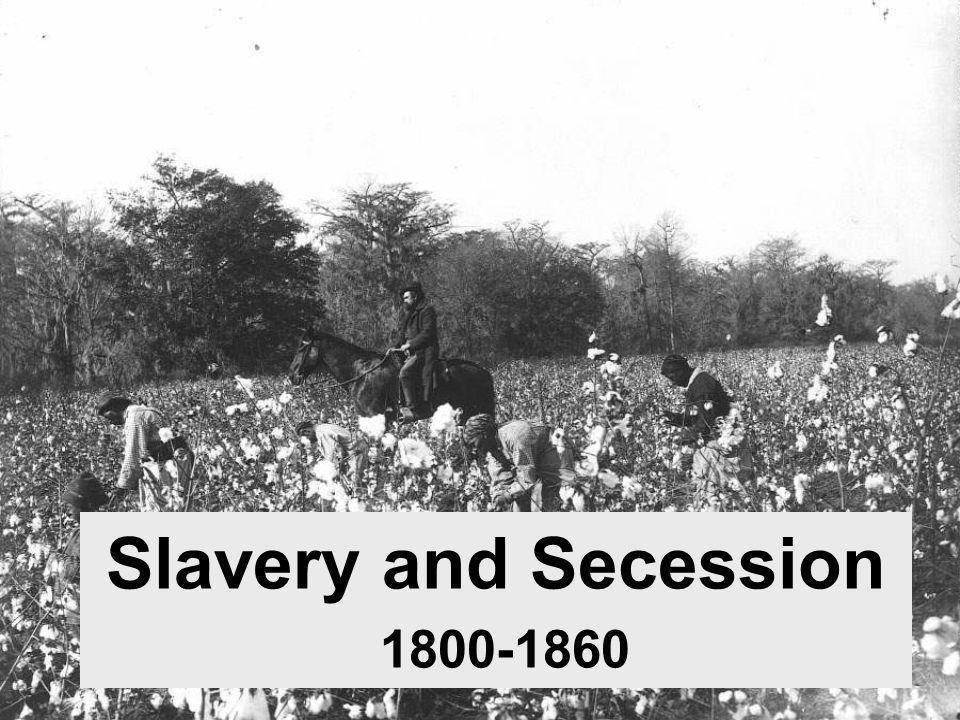 Slavery and Secession 1800-1860