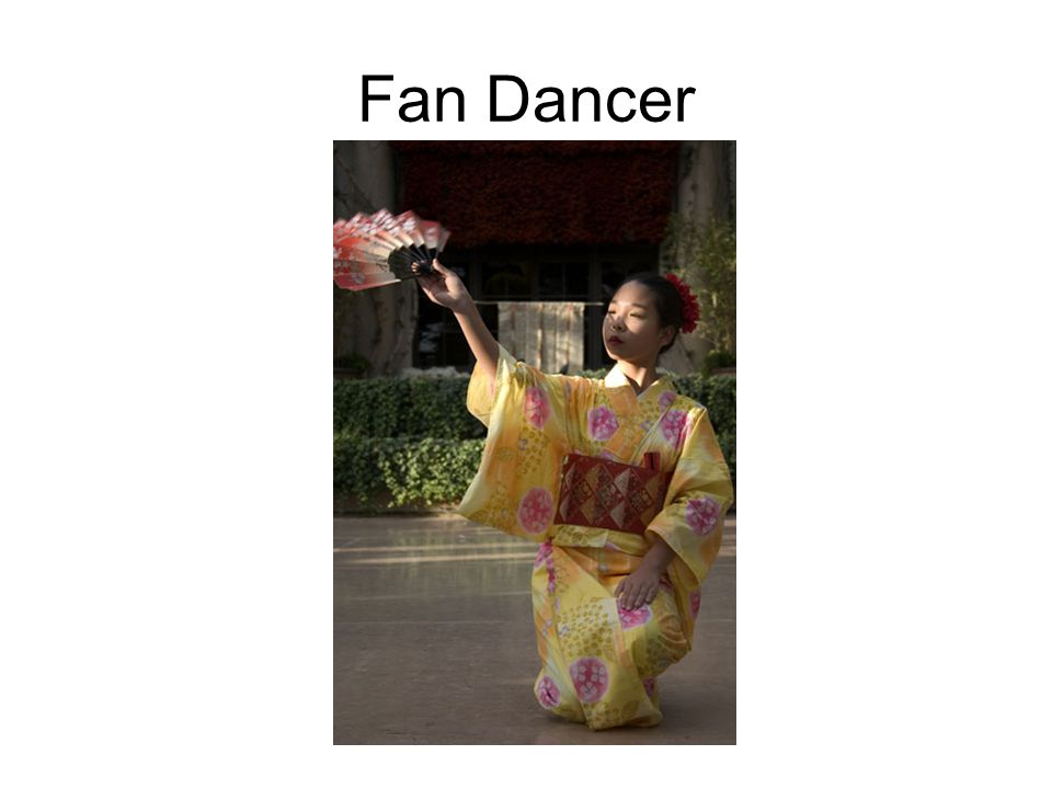 Fan Dancer