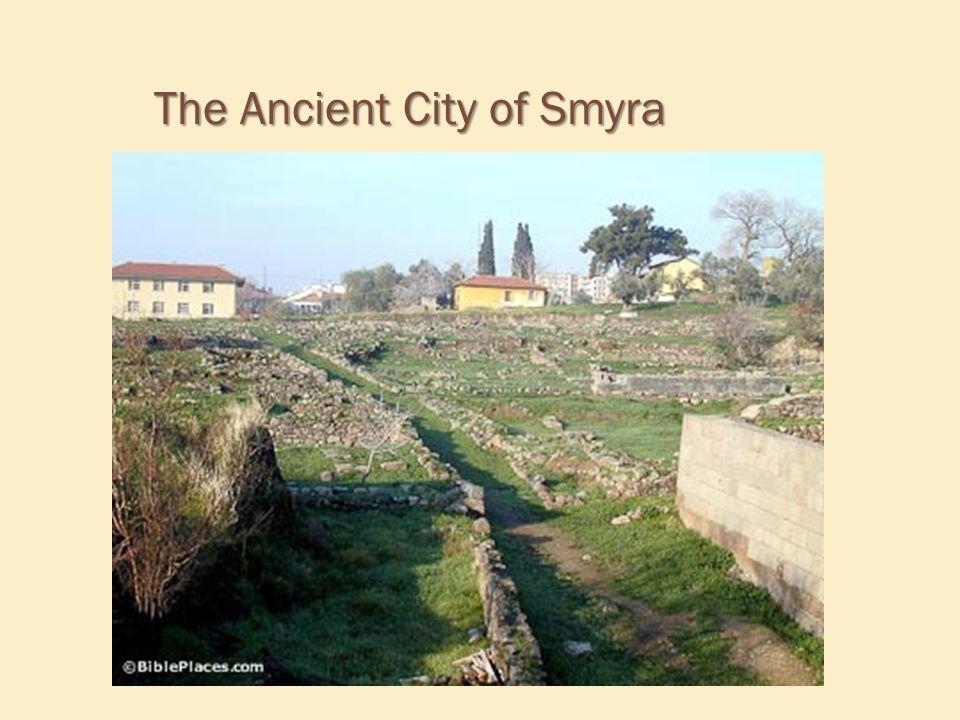 The Ancient City of Smyra