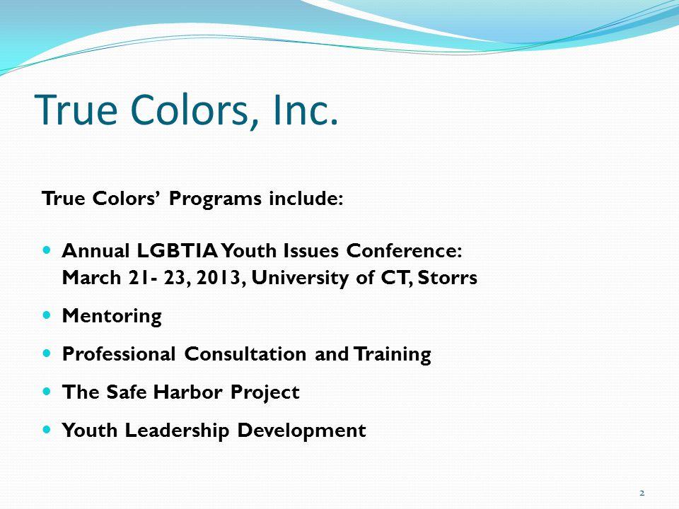 True Colors, Inc.