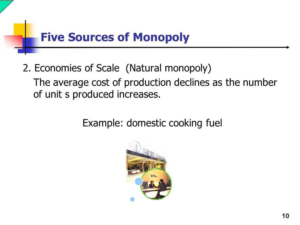 10 Five Sources of Monopoly 2.