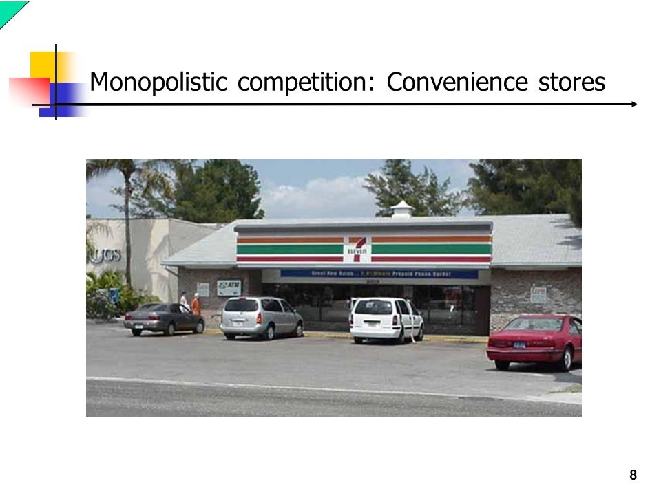 8 Monopolistic competition: Convenience stores