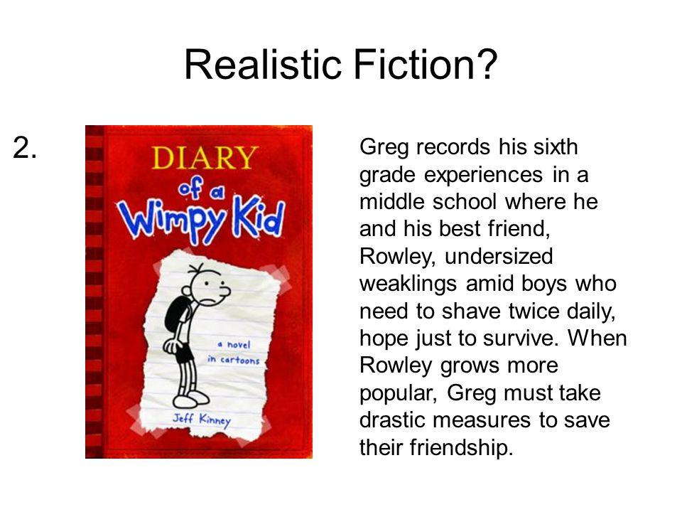 Realistic Fiction.Mr.
