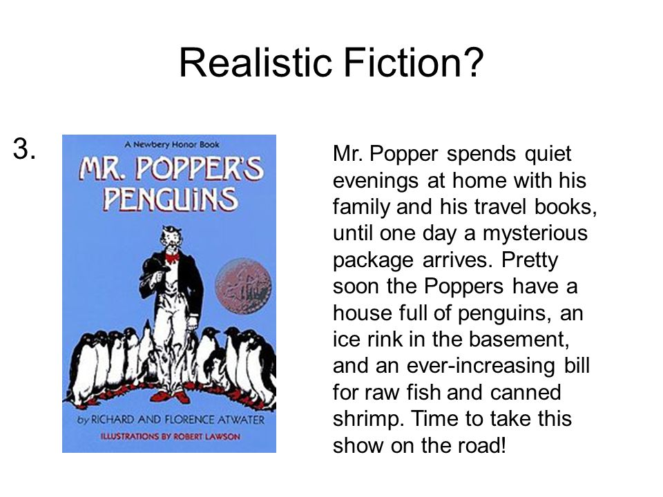 Realistic Fiction. Mr.