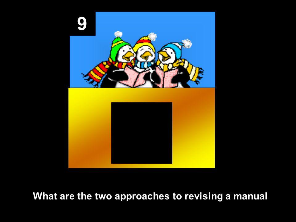 8 Answer: front matter