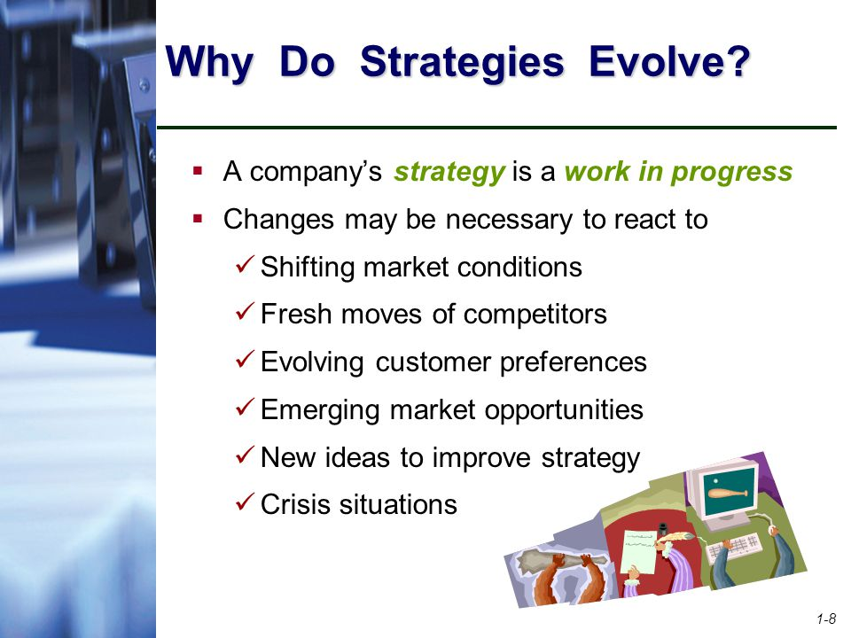 1-8 Why Do Strategies Evolve.