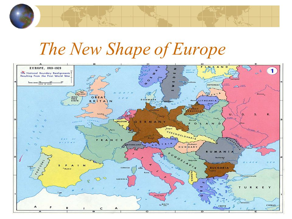 The New Shape of Europe