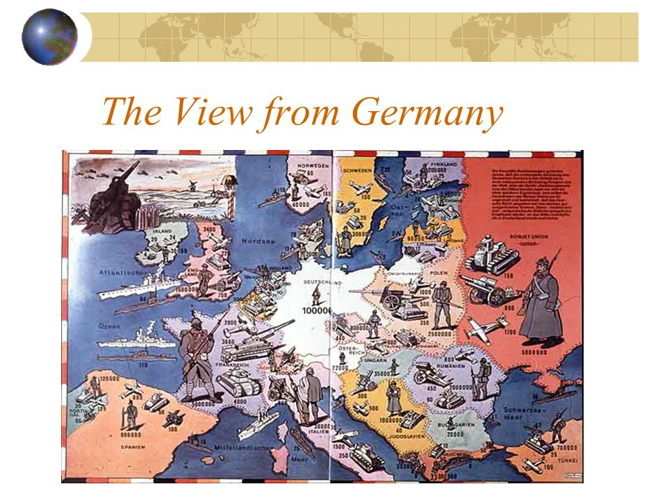 Sequence of Events (cont.) August 1939: Hitler signs non-aggression pact with Stalin September 1939: Germany invades Poland April 1940: Germany invades Norway May 1940: Hitlers launches blitzkrieg into Holland, Belgium, France.