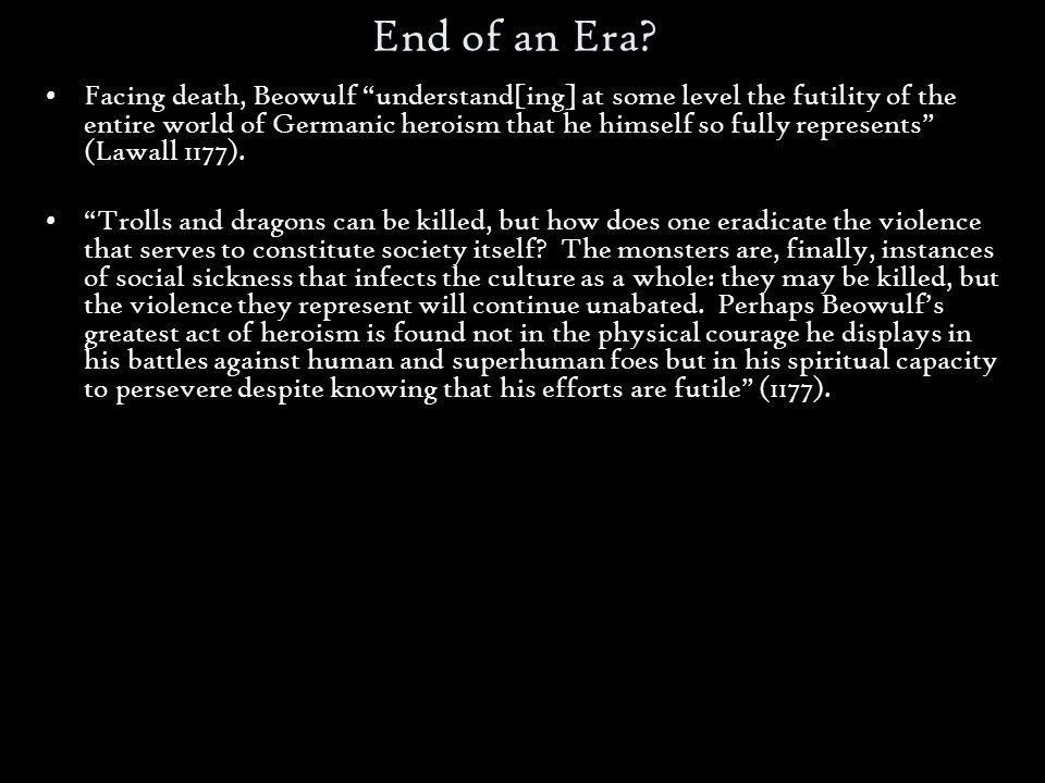 End of an Era.