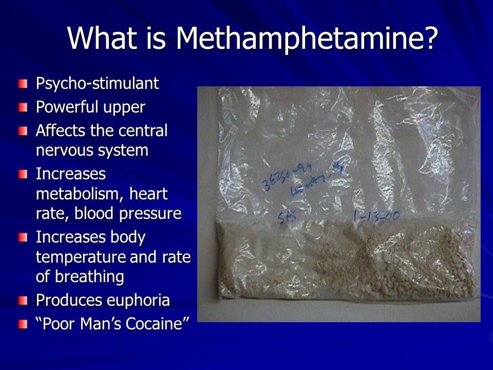 What is Methamphetamine.