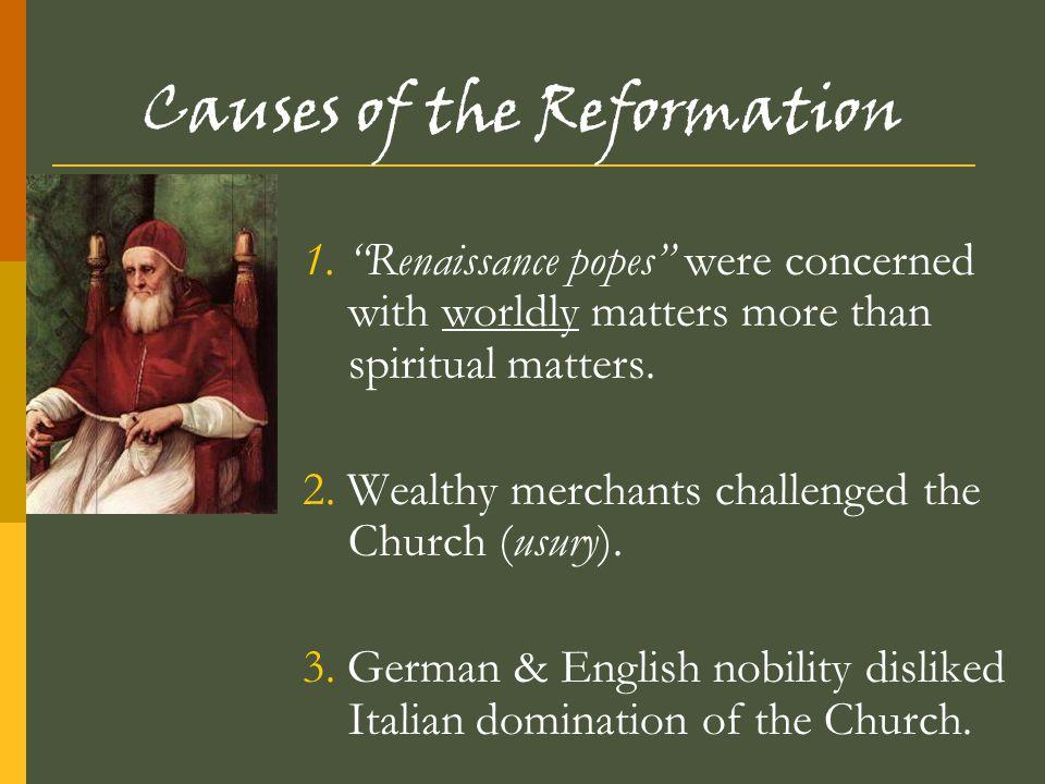 The Catholic Reformation Society of Jesus (Jesuits) founded to spread Catholic doctrine around the world Doctrine = key beliefs