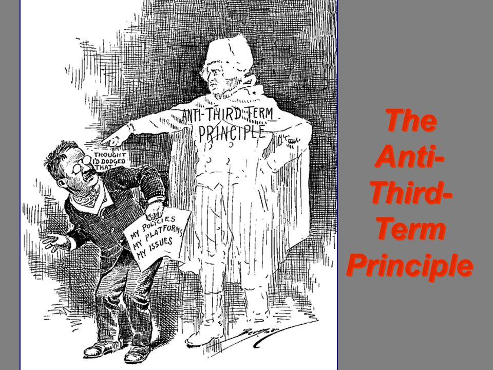 The Anti- Third- Term Principle