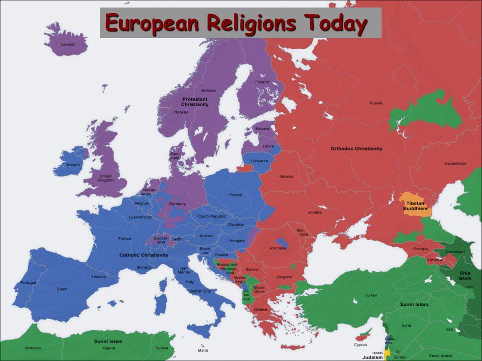 European Religions Today