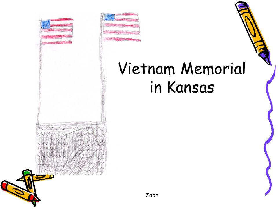 Zach Vietnam Memorial in Kansas