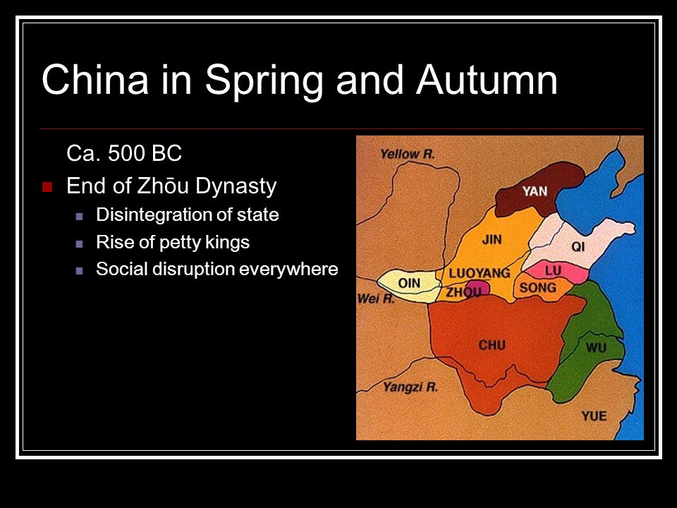 China in Spring and Autumn Ca.
