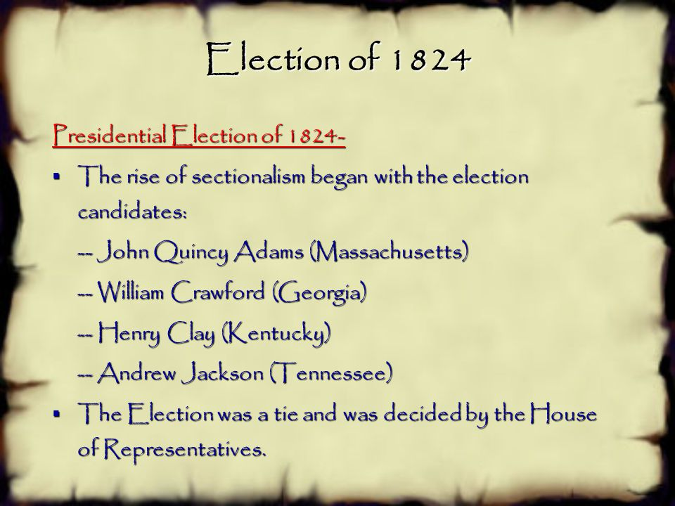 SSUSH7 e.Explain Jacksonian Democracy, expanding suffrage, the rise of popular political culture, and the development of American nationalism.