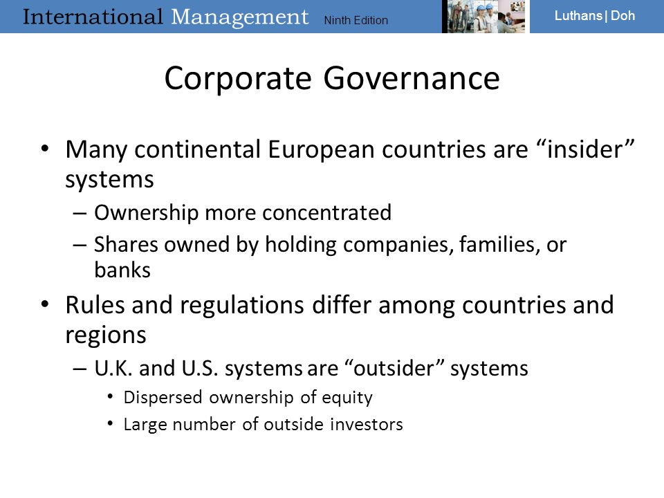 """International Management Ninth Edition Luthans 