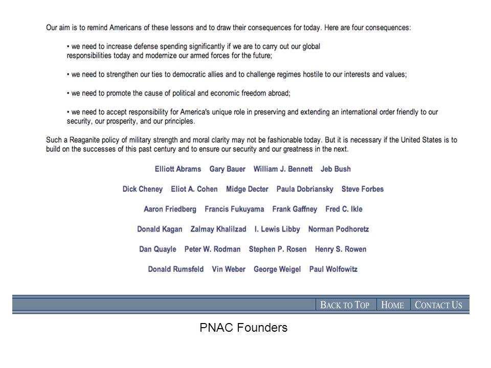 PNAC Founders