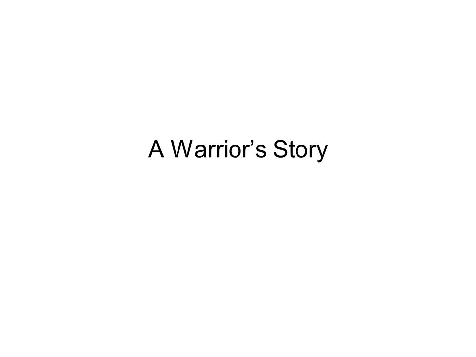 A Warrior's Story