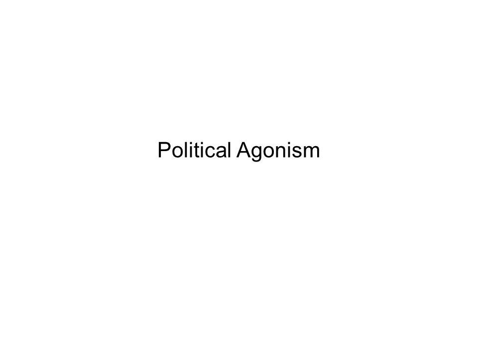 Political Agonism