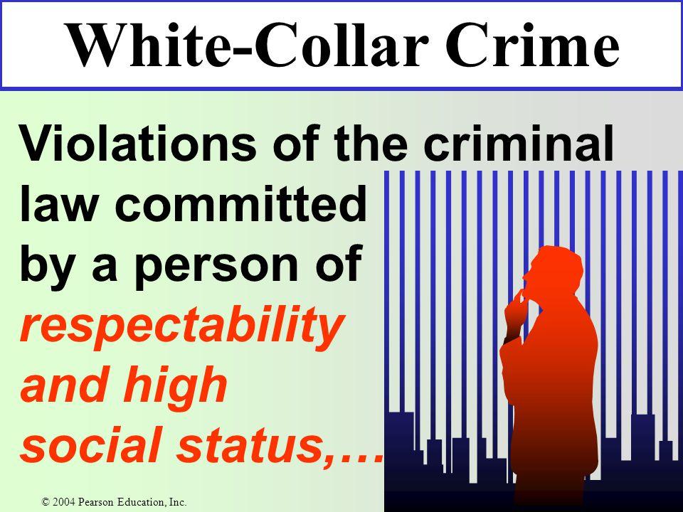 Organized Crime Historical beginnings in Italy Black Hand Mafia © 2004 Pearson Education, Inc.