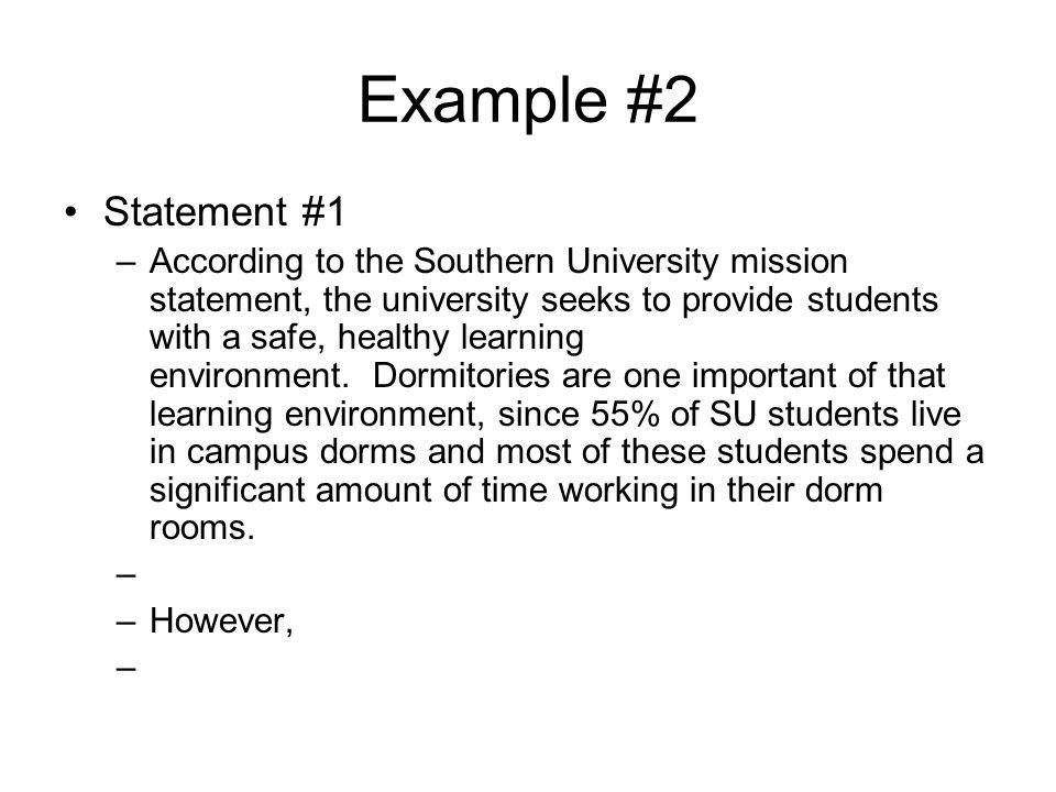 Statement #2 –B.