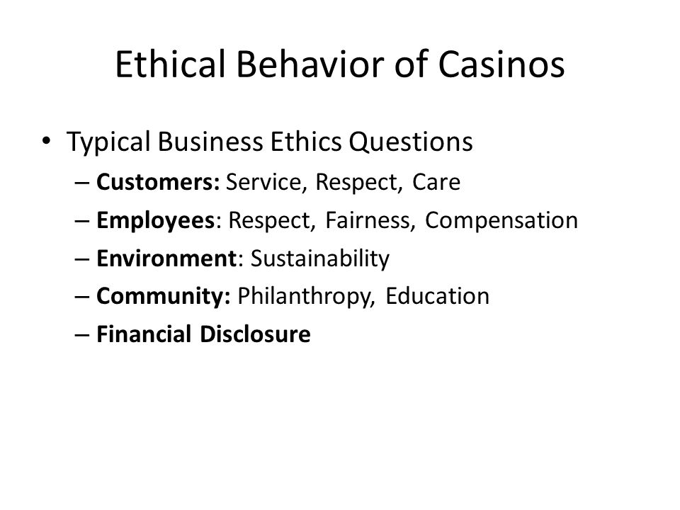 Ethical Culture Codes Responsibility (Officer, Go-To person) Training/ Real Discussions Accountability: Tracking, Monitoring, Auditing Enforcement, Follow-Through Reassessment, Ongoing Reform