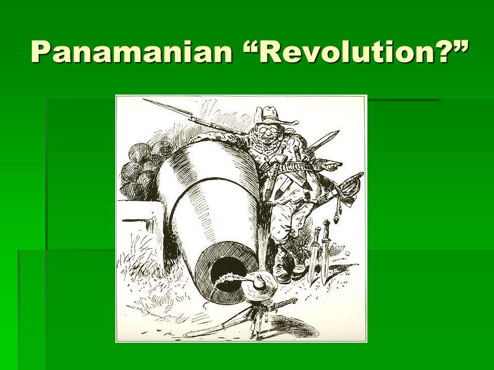 Panamanian Revolution?