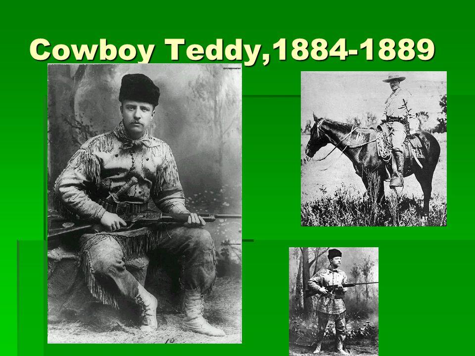 Cowboy Teddy,1884-1889