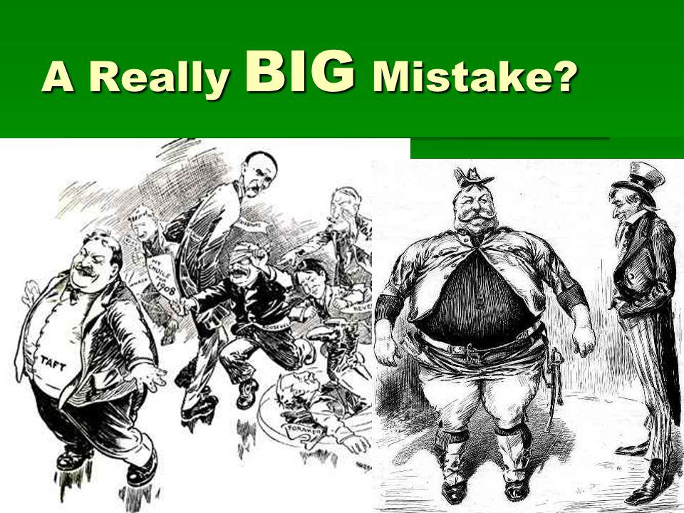 A Really BIG Mistake?