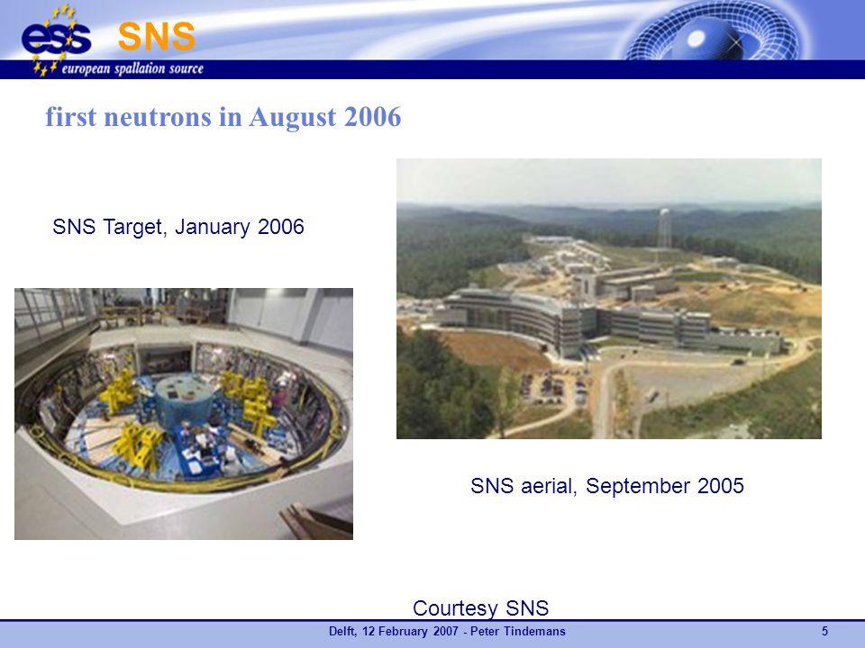 Delft, 12 February 2007 - Peter Tindemans16 Authors: Expert Group for ESFRI Neutron WG A.