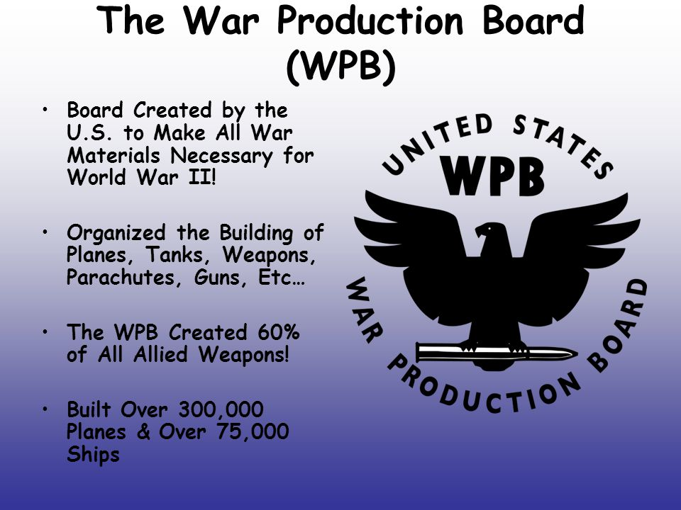 How Did U.S.Pay For WWII. The U.S.
