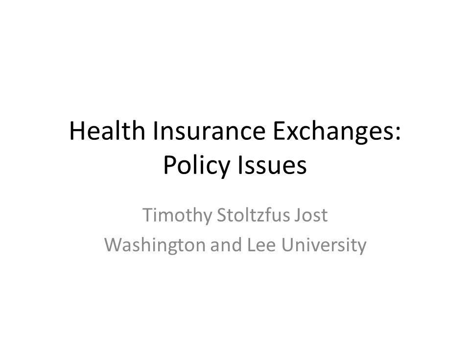The exchange in health reform Final legislation certain to include an exchange An exchange is an organized market for health insurance Examples of exchanges or exchange-like programs include – The Massachusetts Connector – The FEHBP, Medicare Advantage, Medicare Part D – The Clinton plan health alliances – Purchasing cooperatives